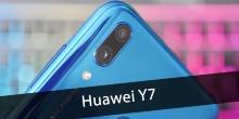 Смартфон Huawei Y7 - новая модель бюджетного ряда