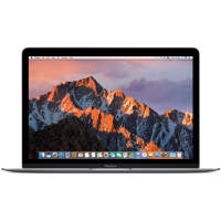 "Ноутбук Apple MacBook 12 Mid 2017 Space Gray MNYF2 (Intel Core m3 1200 MHz/12""/2304x1440/8Gb/256Gb SSD/DVD нет/Intel HD Graphics 615/Wi-Fi/Bluetooth/MacOS X)"