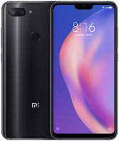Смартфон Xiaomi Mi8 Lite 4/64GB Global Version Black (Черный)