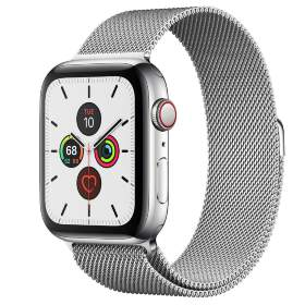 Часы Apple Watch Series 5 GPS + Cellular 40mm Stainless Steel Case with Milanese Loop Silver