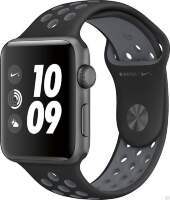 Apple Watch Series 2 Nike+ 42mm Space Gray Aluminum Case with Black/Cool Gray Nike Sport Band