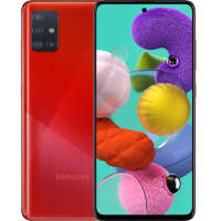 Смартфон Samsung Galaxy A51 (2020) 128GB Red (Красный)