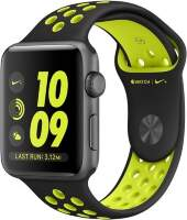 Apple Watch Series 2 Nike+ 38mm Space Gray Aluminum Case with Black/Volt Nike Sport Band