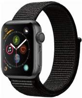Часы Apple Watch Series 4 GPS 40mm Space Gray Aluminum Case with Black Sport Loop