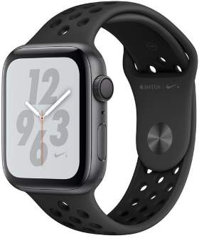 Часы Apple Watch Series 4 GPS 44mm Space Gray Aluminum Case with Nike Sport Band Anthracite/Black