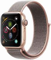 Часы Apple Watch Series 4 GPS 40mm Gold Aluminum Case with Pink Sand Sport Loop