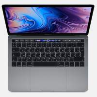Ноутбук Apple MacBook Pro 13 with Retina display and Touch Bar Mid 2018 Space Gray MR9R2RU/A (Intel Core i5 2300 MHz/13.3/2560x1600/8GB/512GB SSD/DVD нет/Intel Iris Plus Graphics 655/Wi-Fi/Bluetooth/macOS)