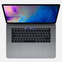 Ноутбук Apple MacBook Pro 15 with Retina display and Touch Bar Mid 2018 Space Gray MR932RU/A (Intel Core i7 2200 MHz/15.4/2880x1800/16GB/256GB SSD/DVD нет/AMD Radeon Pro 555X/Wi-Fi/Bluetooth/macOS)