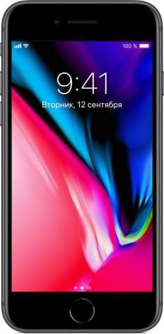 "iPhone 8 64 Gb ""Серый космос"""