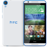 Смартфон HTC Desire 820G+ White-Blue (Белый-Синий)