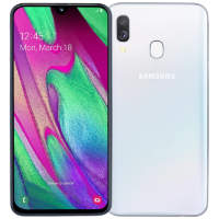 Смартфон Samsung Galaxy A40 (2019) SM-A405FM 4/64GB White (Белый)