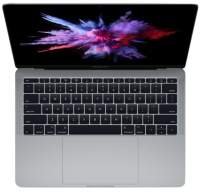 Ноутбук Apple MacBook Pro 13 with Retina display Mid 2017 Space Gray MPXQ2 (Intel Core i5 2300 MHz/13.3/2560x1600/8Gb/128Gb SSD/DVD нет/Intel Iris Plus Graphics 640/Wi-Fi/Bluetooth/MacOS X)