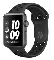 Часы Apple Watch Series 3 42mm Space Gray Aluminum Case with Antracite/Black Nike Sport Band