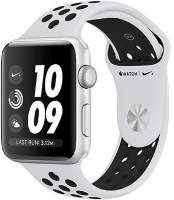 Часы Apple Watch Series 3 42mm Silver Aluminum Case with Pure Platinum/Black Nike Sport Band