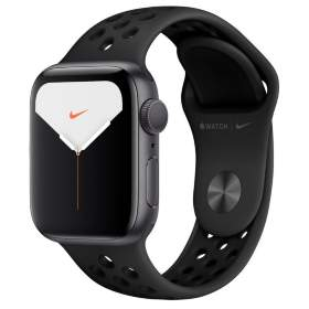 Часы Apple Watch Series 5 GPS 44mm Space Gray Aluminum Case with Antracite/Black Nike Sport Band