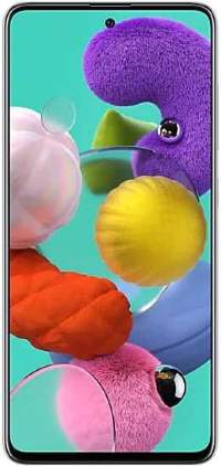 Смартфон Samsung Galaxy A51 (2020) 64GB White (Белый)