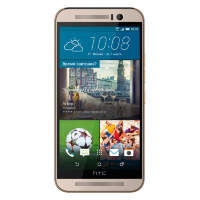 Смартфон HTC One M9 32Gb Gold on Silver