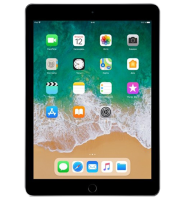 Планшет iPad (2018) 128GB Wi-Fi + Cellular Space Gray (Серый)